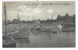 ///   CPA - Afrique - Mozambique - LOURENCO MARQUES - Capitania Wharf - A Doca Da Capitania   // - Mozambique