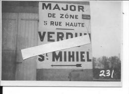 France 1918 Meuse Argonne Maison Du Carrefour Us Army 1 Photo 14-18 1914-1918 Ww1 WW1 Wk1 - War, Military