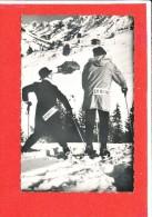 SKI Cpsm Animée Humour         2540 Rossat - Sports D'hiver