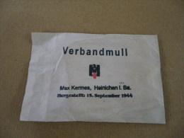 Compresse Verbandmull Croix Rouge Allemand 1944 - Equipement