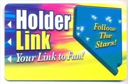 Holder Hospitality Group, several casinos, U.S.A.,  older used BLANK slot or player�s card,  holder-1blank