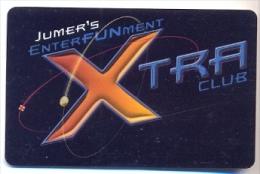 Jumer�s Casino, Rock Island, IL,  U.S.A. older BLANK used slot or member�s card,  jumers-1blank