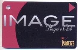 Jumer�s Casino, Rock Island, IL,  U.S.A. older BLANK used slot or member�s card,  jumers-2blank