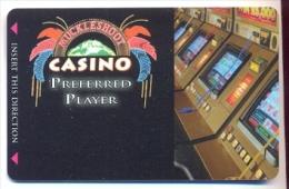 Muckleshoot Casino, Auburn, WA, U.S.A., older BLANK used slot or player�s card,  muckleshoot-1blank