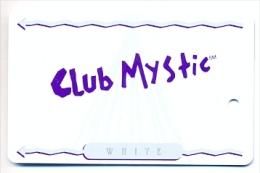Mystic Lake Casino, Prior Lake, MN, U.S.A., older BLANK used slot or player�s card, mysticlake-1blank