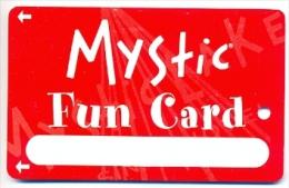 Mystic Lake Casino, Prior Lake, MN, U.S.A., older BLANK used slot or player�s card, mysticlake-9blank