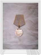 Médaille Pour Service Au Combat    Urss  Russie  Russe  Ww2   Origine - 1939-45