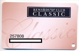 Pechanga Resort & Casino, Temecula, CA,  U.S.A., older used slot card, # pechanga-3