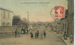 "CPA FRANCE 80 ""Flixecourt, Rue De La Gare"" - Flixecourt"