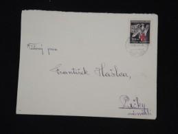 BOHEME ET MORAVIE - Enveloppe De 1943 - Aff. Plaisant - à Voir P8668 - Lettres & Documents