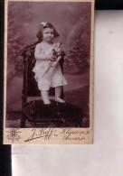 ANVERS Enfant Avec Jouets Poupées Poppen Photo CDV Vers 1900 - Alte (vor 1900)