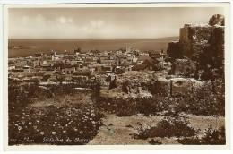 Liban - SAIDA - Vue du chateau. 570 Photo Sport �d.