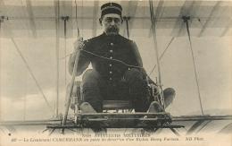 Guerre 14-18, Nos Aviateurs Militaires, Le Lieutenant Cammermann, Carte Pas Courante - War 1914-18