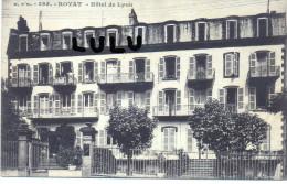 DEPT 63 : Royat , Hotel De Lyon - Royat