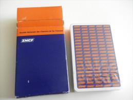 jeu de 52 cartes � jouer - SNCF - transports - GRIMAUD