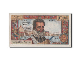 France, 5000 Francs Henri IV 1957, 7.2.1957, Pick 135a - 1871-1952 Circulated During XXth