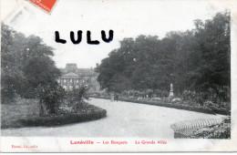 DEPT 54 : 2 Scans ; Luneville , Les Bosquets La Grande Allée - Luneville