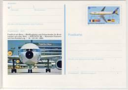 BPK -  Flughafen FRANKFURT Am Main, NAPOSTA ´89,  Marke EUROPA CEPT - Avions