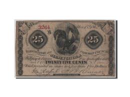 Etats-Unis, Obsolètes, New Jersey, 25 Cents 15.11.1862 - Billets
