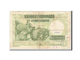 Belgique, 50 Francs / 10 Belgas Type 1945 - [ 6] Treasury
