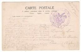 CPA - 1915 - 55 MEUSE -  TAMPON GOUVERNEUR FORT DE GIRONVILLE Sur Carte S.M. LE ROI ALBERT ET SA FAMILLE - War 1914-18