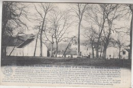Les Hollando-Belges Aux Quatre-Bras - 16 Juin 1815 N° 2 La Ferme De Grand Pierrepont - Militaria