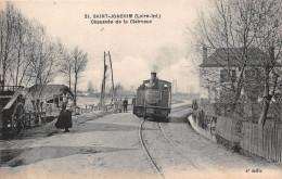 ¤¤   -    21   -   SAINT-JOACHIM   -  Chaussée De La Claivaux   -  Train , Chemin De Fer Du Morbihan    -  ¤¤ - Saint-Joachim