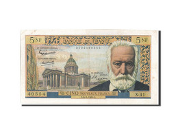 [#206368] 5 Nouveaux Francs Type Victor Hugo, 04 Février 1960, Fayette 56.5 - 5 NF 1959-1965 ''Victor Hugo''