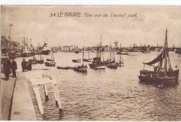 Cpa  LE HAVRE Une Vue De L Avant Port - Port