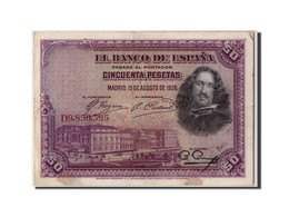[#307193] Espagne, 50 Pesetas Type Diego Velazquez - 50 Pesetas