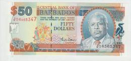 Barbados  50 Dollars 2000 Pick 64 UNC - Barbades