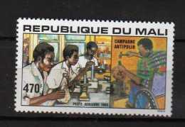 MALI **  -1985 - Campagne Antipolio  Timbre Aérien PA. Yvert 502 - Mali (1959-...)