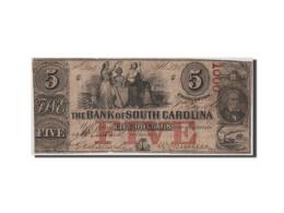 [#44715] Etats-Unis, Obsol�tes, South Carolina, Bank of State, 5 Dollars 1.5.1860