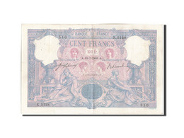 [#206592] 100 Francs Type Bleu Et Rose, 18 Juillet 1908, Fayette 21.23 - 1871-1952 Circulated During XXth