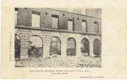 Incendie De L'entrepot Royal D'anvers 5 Juin 1901 Vue Des Ruines G Hermans - Antwerpen