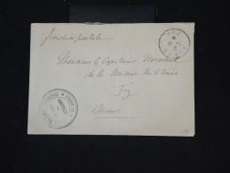 FRANCE - MAROC - Enveloppe En Franchise Pour Un Capitaine De La Mission Militaire à Fez En 1912 - à Voir - P8703 - Marokko (1891-1956)