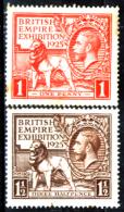Gran-Bretagna-265 - 1925 - Unificato, N.173/74 (+) MLH - N.173 Con Piccola Punta Di Ruggine - Privi Di Difetti Occulti. - 1902-1951 (Re)