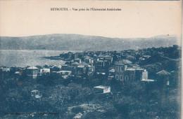 Beyrouth - Vue prise de l'Universit� Am�ricaine