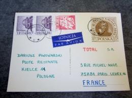 Pologne - Carte Postale Illustrée  - Entier Postal - Total - 1919-1939 Republic