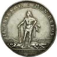 France, Jeton, Royal, 1688, TTB, Argent, Feuardent:9820 - France