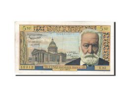 [#206363] 5 Nouveaux Francs Type Victor Hugo, 05 Juillet 1962, Fayette 56.12 - 5 NF 1959-1965 ''Victor Hugo''
