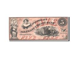 [#44886] Etats-Unis, Obsolètes, Maryland, Allegany County, 5 Dollars 4.1.1860 - Maryland