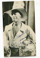 """""""HAROLDO COSTA"""" ATOR, ESCRITOR, PRODUCTOR BRASILEIRO AUTOGRAPH AUTOGRAPHE ORIGINAL VINTAGE CIRCA 1951 NON CIRCULEE GECKO - Autografi"""