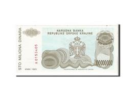 Croatie, 100 Millions Dinara Type 1993 - Croatia