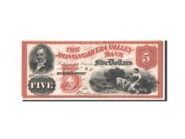 Etats-Unis, Obsolètes, Pennsylvania, Monongahela, 5 Dollars 27.11.1858 - Pennsylvania