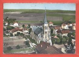 C.P.M. Saint-Privat-la-Montagne - L'Eglise - Beau Cachet Postal Perlé De St. Privat - France
