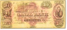[#44755] Etats-Unis, Obsol�tes, Louisiana, Canal Bank, 10 Dollars 18__