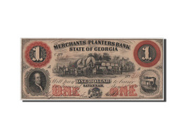 [#44572] Etats-Unis, Obsolètes, Géorgie, Merchants & Planters, 1 Dollar 1.6.1859 - Etats-Unis