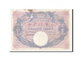 [#158614] 50 Francs Type Bleu Et Rose, 11 Janvier 1918, Fayette 14.31 - 1871-1952 Anciens Francs Circulés Au XXème