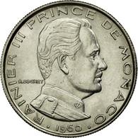 Monnaie, Monaco, Rainier III, Franc, 1960, SUP+, Nickel, KM:140, Gadoury:150 - 1960-2001 Nouveaux Francs